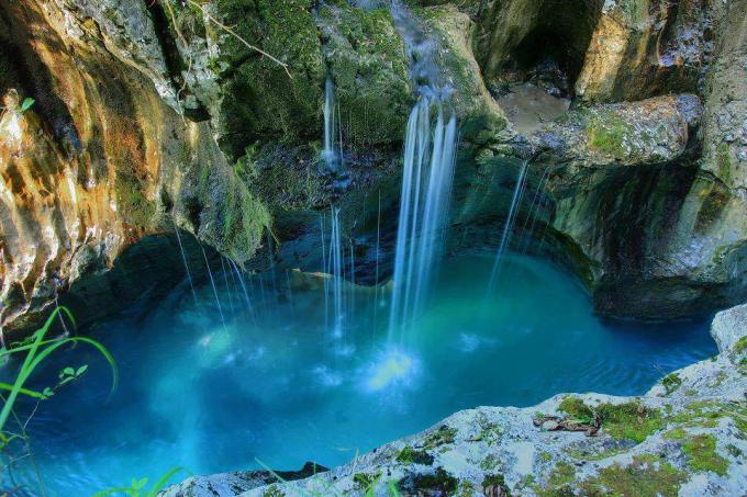 11d Triglav National Park near the town of Bovec in Slovenia