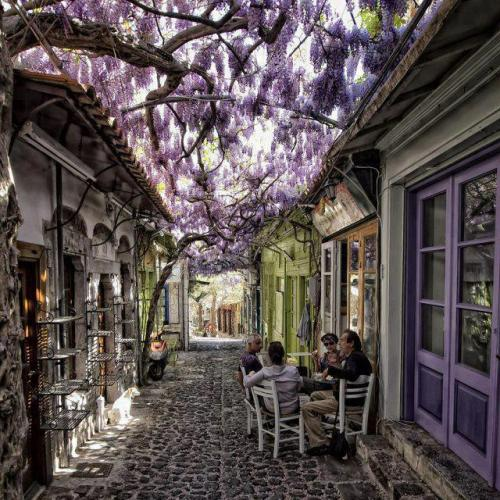 11h Molyvos village in Lesvos, Greece