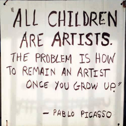 13o can you remain an artist as you grow up