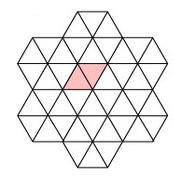 1d Infinite Triangular mess grid of resistance or impedence