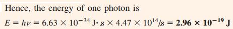 21 Energy of a photon