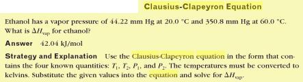 30b Clausius Clapeyron Equation