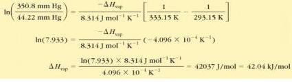 30c Clausius Clapeyron Equation