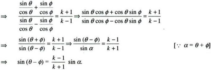 31b Componendo Dividendo k-1 by K + 1