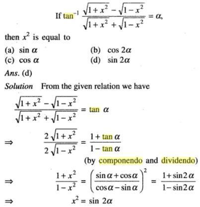 35a Componendo Dividendo Trigonometry