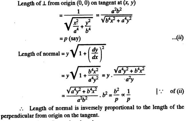41q Subtangent Subnormal description