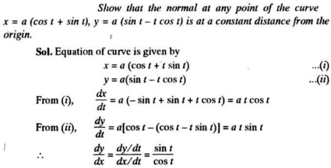 42a Subtangent Subnormal description