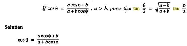52a Componendo Dividendo Trigonometry