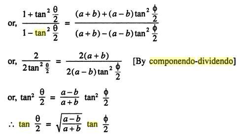 52c Componendo Dividendo Trigonometry