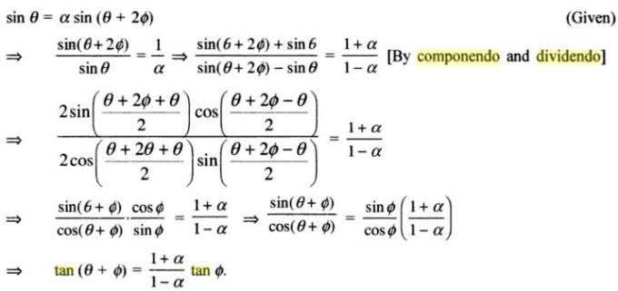 53a Componendo Dividendo Algebra
