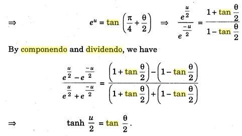 61d Componendo Dividendo Hyperbolic