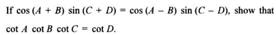 62a Componendo Dividendo Trigonometry