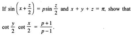 63a Componendo Dividendo Trigonometry