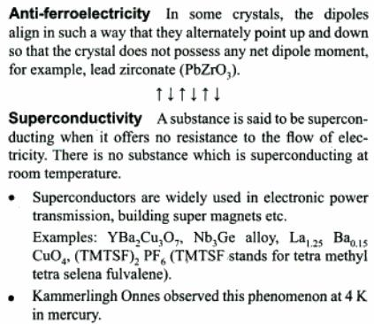7a Antiferroelectricity Superconductivity