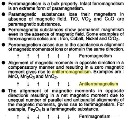 7b Ferromagnetism, Paramagnetism, Anti