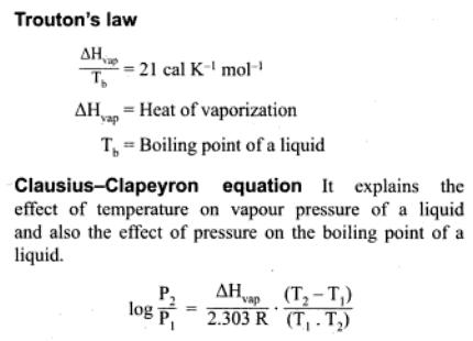 8a Trouton's Law and Clausius Clapeyron equation