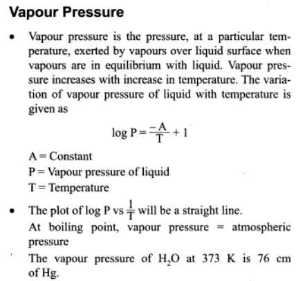 9a Vapour Pressure