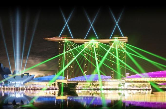 31f Singapore Marina Bay lighting