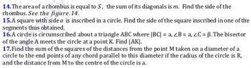 35b Just before exam Math theorems