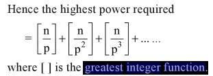 35d Properties de Polignac's Formula