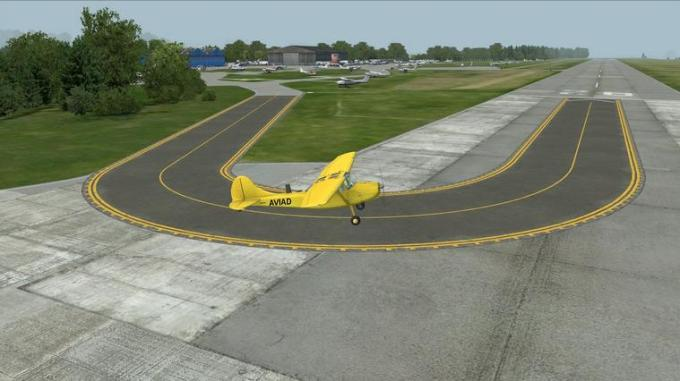 53d u turn runway