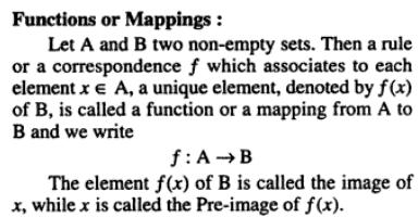 33c Functions or Mappings