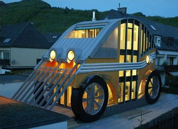 36c small car house
