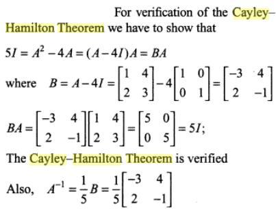 47e Cayle Hamilton Theorem
