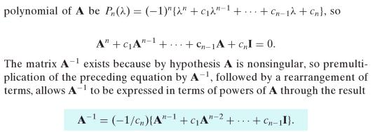 47j Cayle Hamilton Theorem