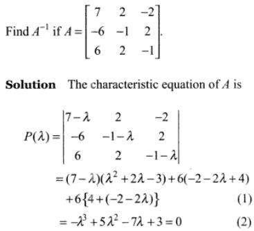 47k Cayle Hamilton Theorem