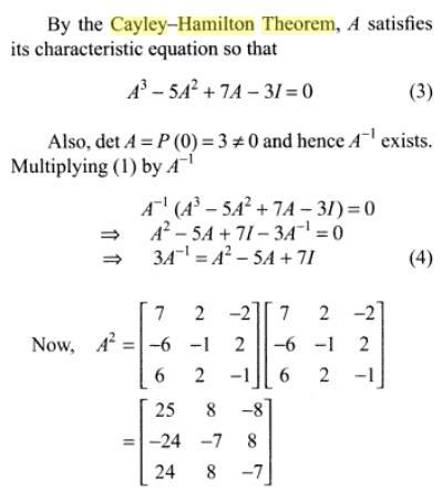 47l Cayle Hamilton Theorem