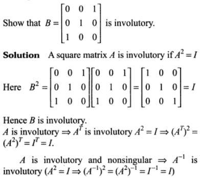 47r Involutory Matrix