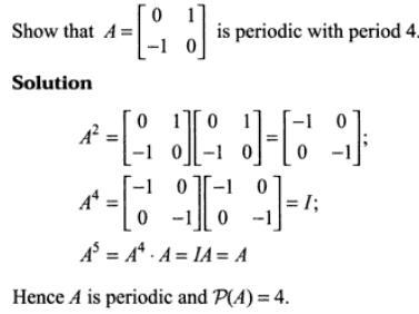 47t Periodic Matrix