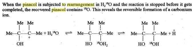 62b Retropinacol Rearrangement