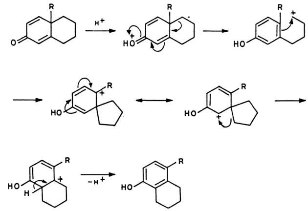 64b Dienone Phenol retropinacol rearrangement