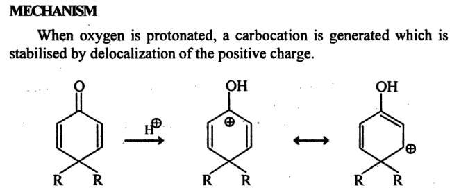 64e Dienone Phenol retropinacol rearrangement