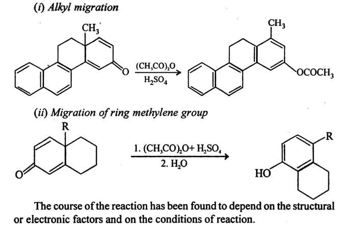 64g Dienone Phenol retropinacol rearrangement