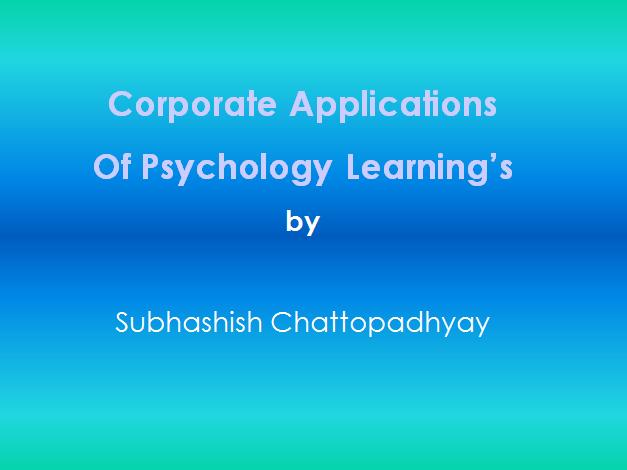 1 Psychology