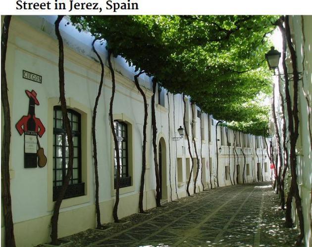 Jerez Spain street