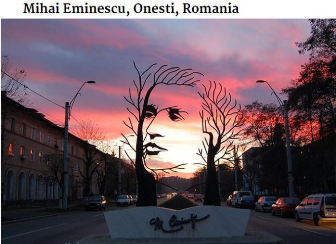 Mihai Eminescu Onesti Romania