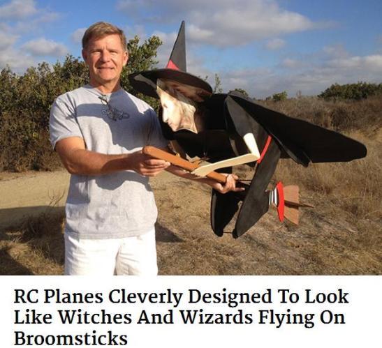 witch plane