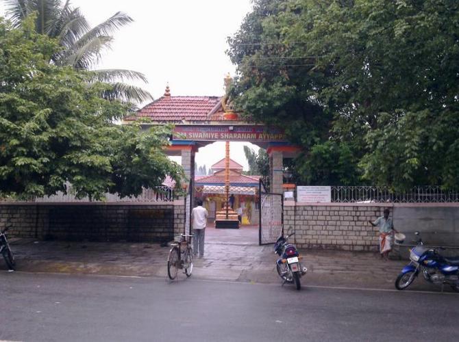 2 Ayyappa Swami Temple behimd IIM Belekahalli Sundaram Shetty Nagar