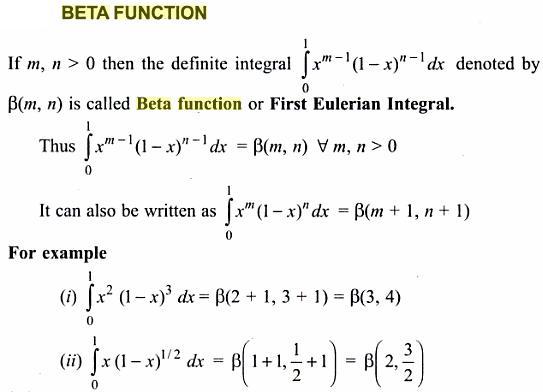 1 Beta Function