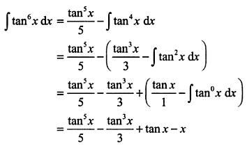 16 Integration reduction formula