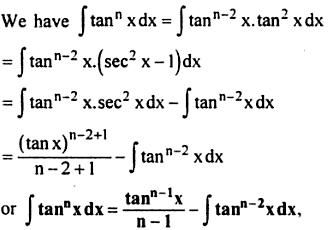 8 Integration reduction formula