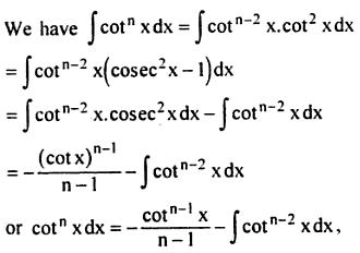 9 Integration reduction formula