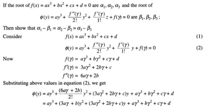 83 Cubic Equation