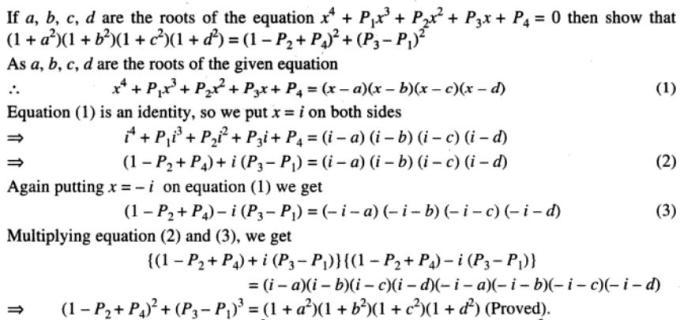 87 Quartic Equation
