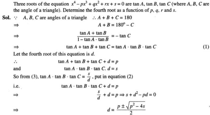91 Quartic Equation