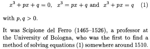 Cubic Equation 8 xcube+px+q=0 x^3+px+q=0